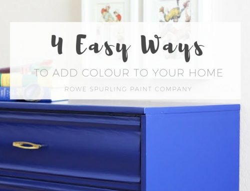 4 Easy Ways To Add Colour To Your Home