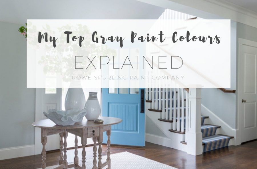 My Top Grey Paint Colours Explained