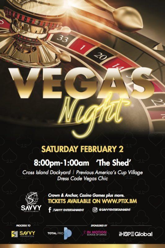 Savvy Entertainment hosts Vegas Nights | RG Magazines