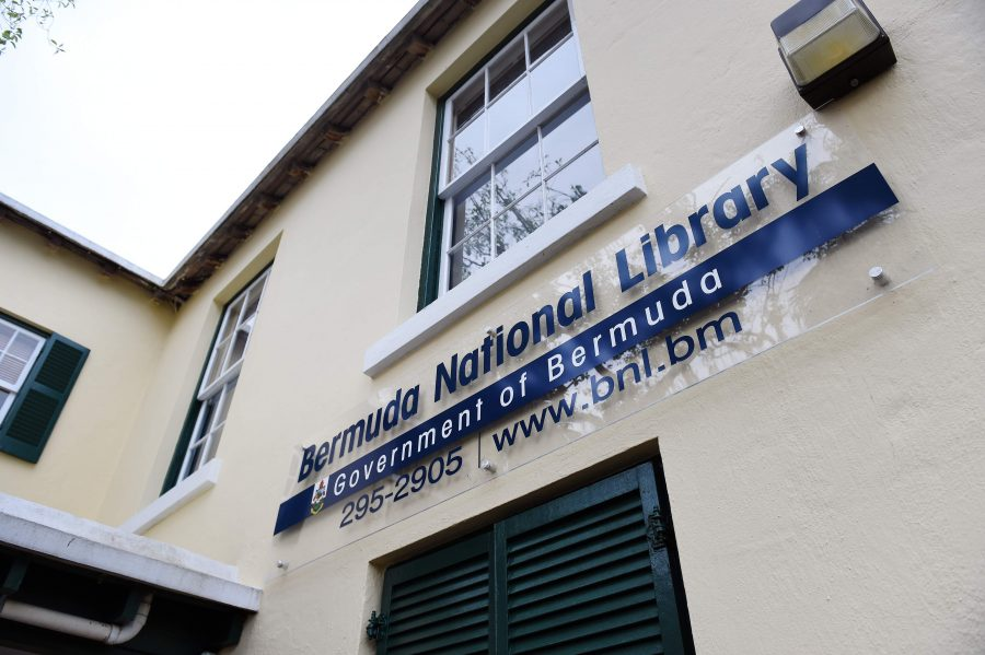 Bermuda National Library in Hamilton